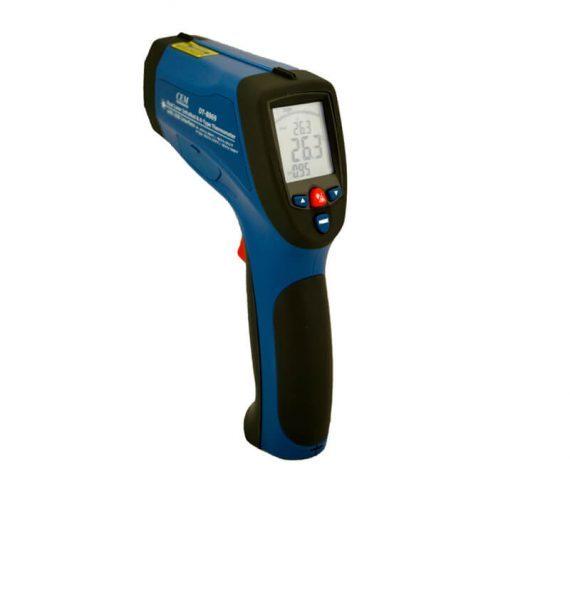 pirómetro infrarrojo rango de -50 °c a 1600 °c