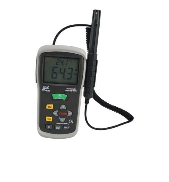 termohigrometro ambiental con sonda